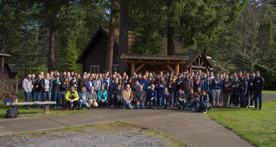 2016 Volcano Conference in Chemical Biology, Eatonville, WA. (Click for full-sized picture)